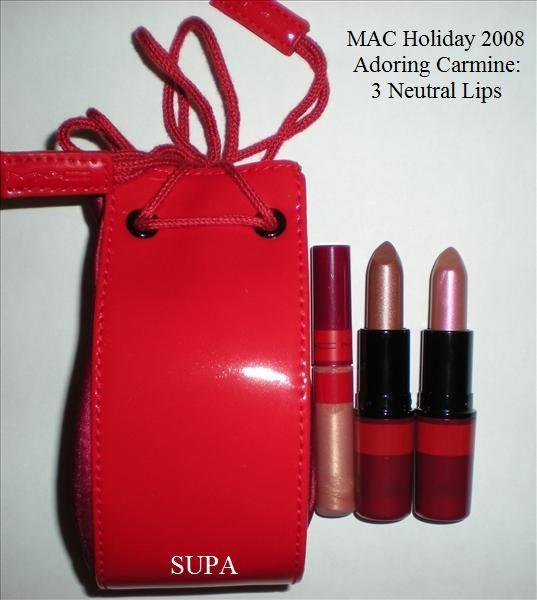 MAC Adoring Carmine: Neutral Lips Bag