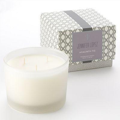 Jennifer Lopez Hyacinth Fig candle