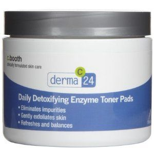 c. booth Daily detoxifying enzyme toner pads