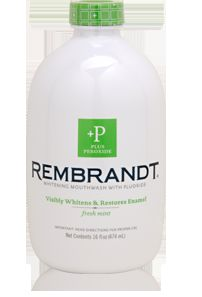Rembrandt  Rembrandt Plus Peroxide Whitening Rinse
