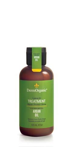 DermOrganic Leave In Treatment with Argan Oil