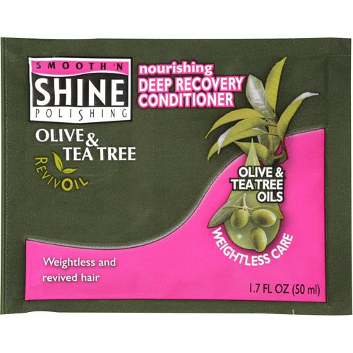 Smooth 'N Shine Olive & Tea Tree RevivOil Nourishing Deep Recovery Conditioner