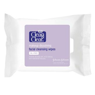 clean clear makeup dissolving facial cleansing wipes reviews photos. Black Bedroom Furniture Sets. Home Design Ideas