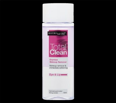 Maybelline Total clean eye makeup remover