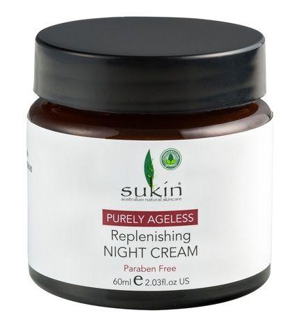 Sukin Pureley Ageless Replenishing Night Cream
