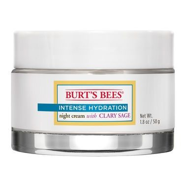 Burt's Bees Intense Hydration Night Cream with Clary Sage