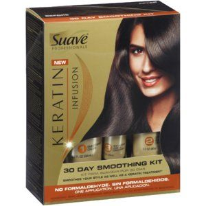Suave Keratin Infusion Treatment 30 Day Smoothing Kit ] [DISCONTINUED]