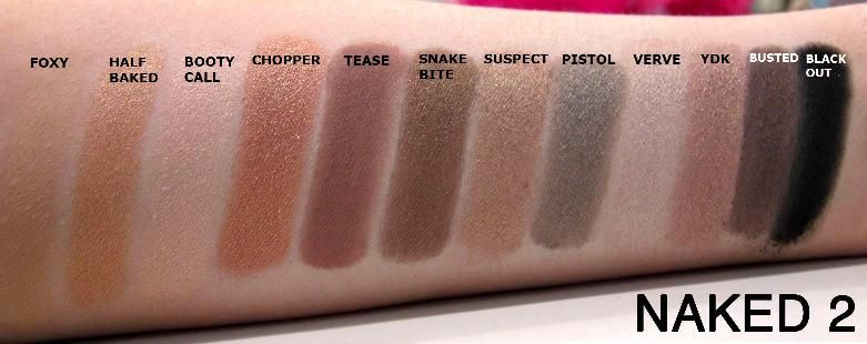 Urban Decay Naked 2 Eyeshadow Palette Neutral Shades Brown