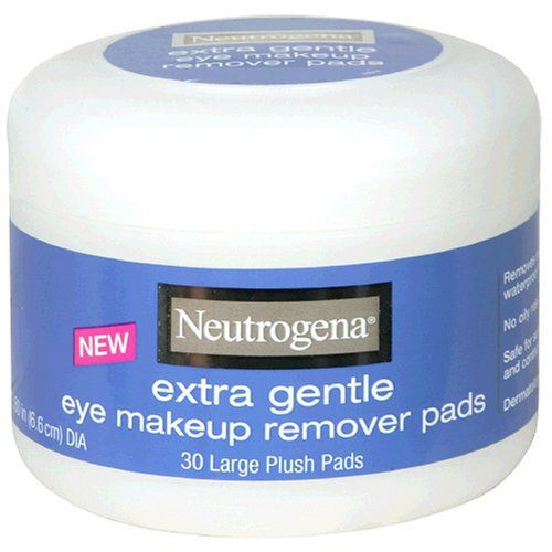 Eye Makeup Remover - Neutrogena - Extra Gentle Eye Makeup Remover Pads