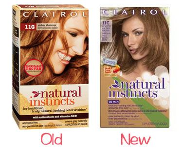 Clairol Natural Instincts In Amber Shimmer Reviews Photo  Makeupalley