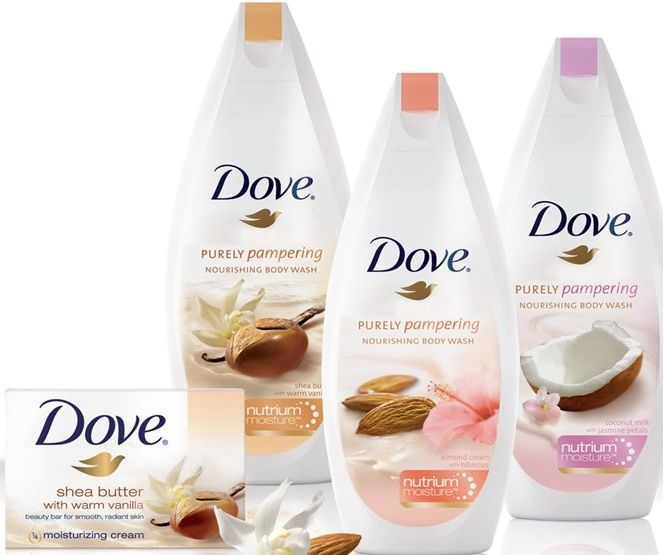 Dove purley pampering nourishing body wash