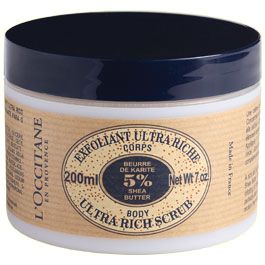 L'Occitane Shea Butter - Ultra Rich Body Scrub