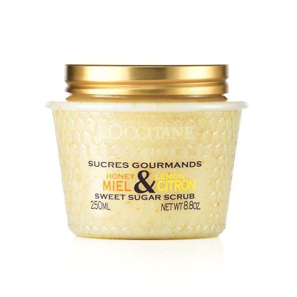 L'Occitane Honey & Lemon Sweet Sugar Scrub