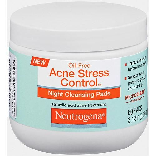 Neutrogena Acne Stress Control Night Cleansing Pads