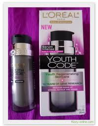 L'Oreal Youth Code Regenerating Skincare Serum Intense Daily Treatment
