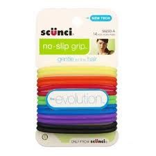 Scunci No-slip Grip Evolution Opaque Jelly Ponytailers