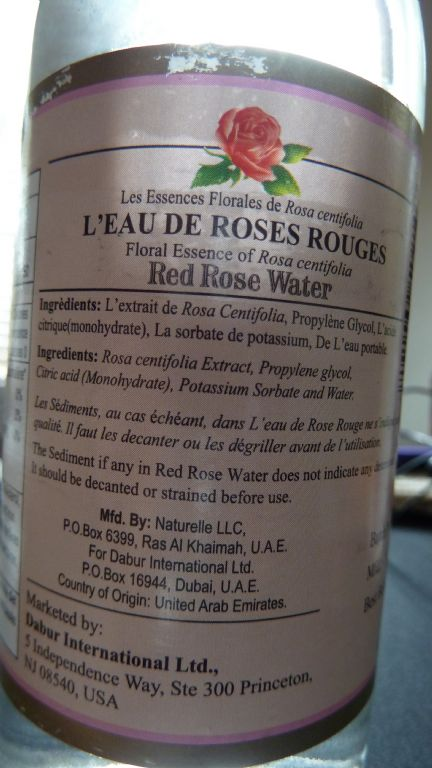 Rose Water (Drugstore)