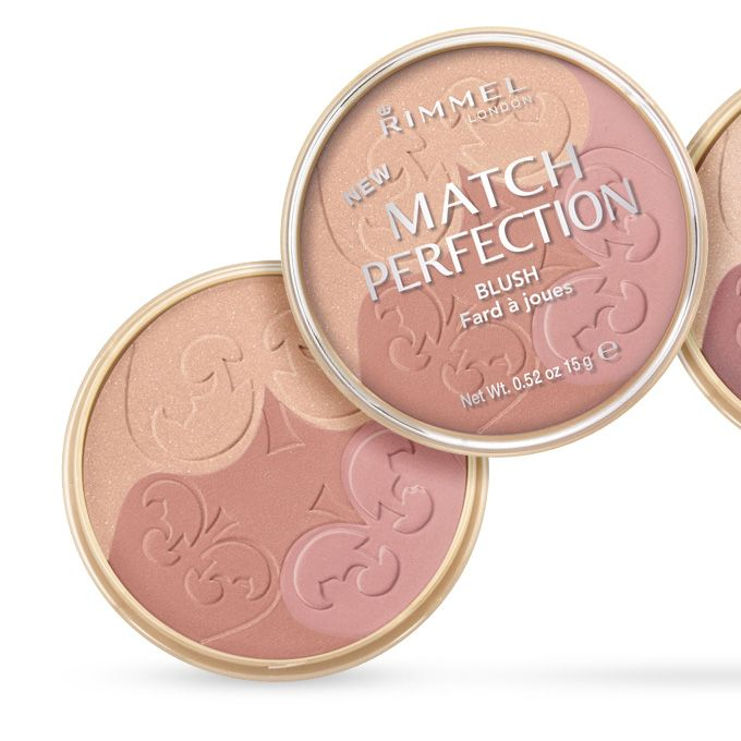 Rimmel Match Perfection Blush - Light/Medium 002