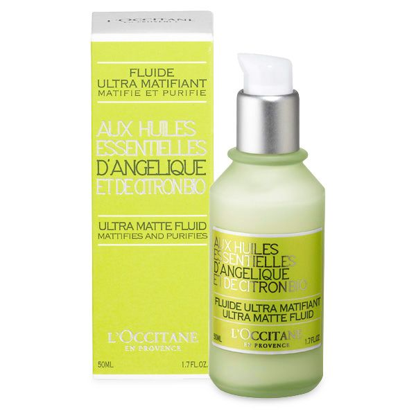 L'Occitane angelica ultra matte fluid with citron bio