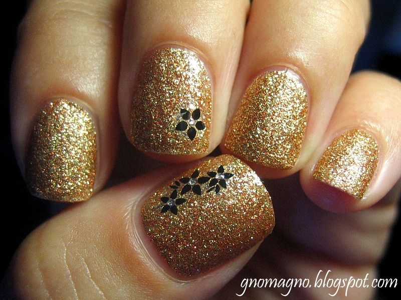 Milani One Coat Glitter - Gold Glitz