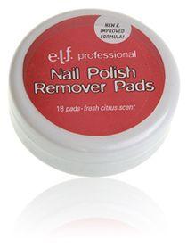 E.L.F. Nail Polish Remover Pads