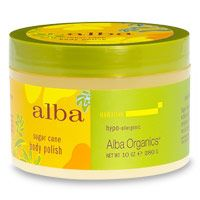 Alba Botanica Sugar Cane Body Polish