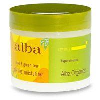 Alba Botanica Hawaiian Aloe & Green Tea Oil Free Moisturizer