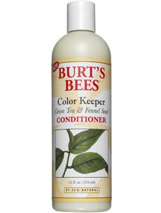 Burt's Bees Color Keeper Green Tea and Fennel Seed Conditioner [DISCONTINUED]