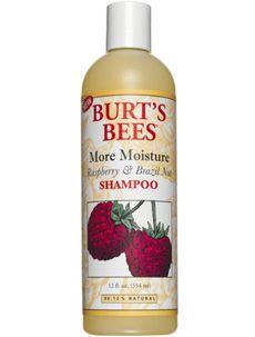 Burt's Bees More Moisture Raspberry and Brazil Nut Shampoo [DISCONTINUED]