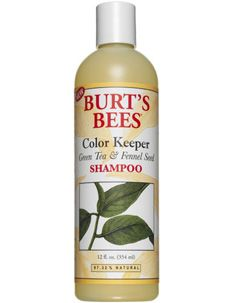 Burt's Bees Color Keeper Green Tea and Fennel Seed Shampoo [DISCONTINUED]
