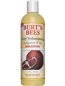 Burt's Bees Very Volumizing Pomegranate & Soy Shampoo