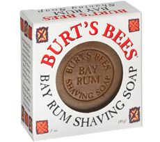 Burt's Bees bay rum shave soap [DISCONTINUED]
