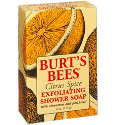 Burt's Bees Citrus Spice Exfoliating Shower Soap [DISCONTINUED]