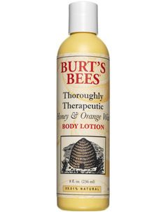 Burt's Bees Thoroughly Theraputic Honey Orange Wax Body Lotion [DISCONTINUED]