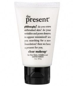 Philosophy The Present  Clear Makeup