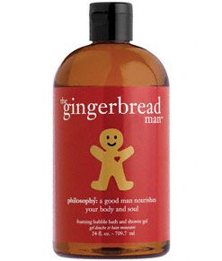 Philosophy The gingerbread man- ginger ale foaming bubble bath and shower gel