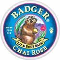 Badger Chai Rose Lip and Body Balm