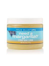 Bath and Body Works True Blue Spa Island Getaway Need A Margarita Citrus Body Scrub