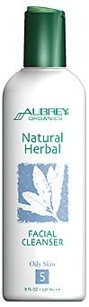Natural Herbal Facial Cleanser, for Oily Skin Aubrey