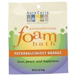 Aura Cacia Aromatherapy Foam Bath - Patchouli Sweet Orange