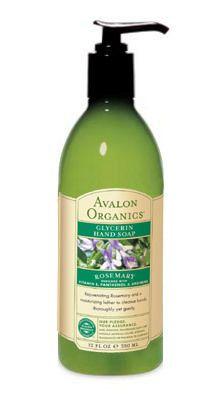 Avalon Organics Botanicals rosemary glycerin hand soap