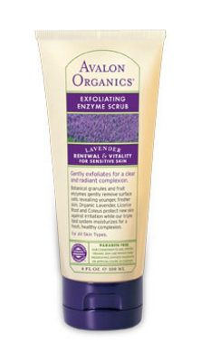 Avalon Organics Botanicals Therapeutic Lavender Exfoliating Enzyme Scrub