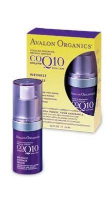 Avalon Organics Botanicals CoQ10 Wrinkle Defense Serum
