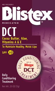 Blistex Lip Conditioner DCP  SPF 16
