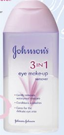 Johnson & Johnson 3in1 Eye Make-up Remover Lotion