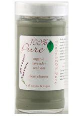 100 Percent Pure Organic Lavender Seafoam Facial Cleanser