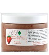 100 Percent Pure Strawberry Butter body scrub
