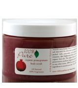 100 Percent Pure Organic Pomegranate Body Scrub