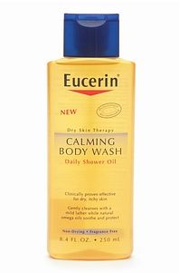 eucerin calming body wash daily shower oil reviews photos ingredients makeupalley. Black Bedroom Furniture Sets. Home Design Ideas