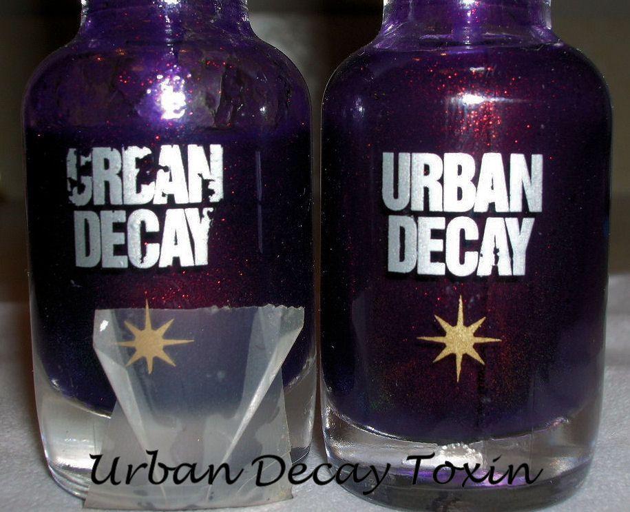 Urban Decay Toxin nail polish